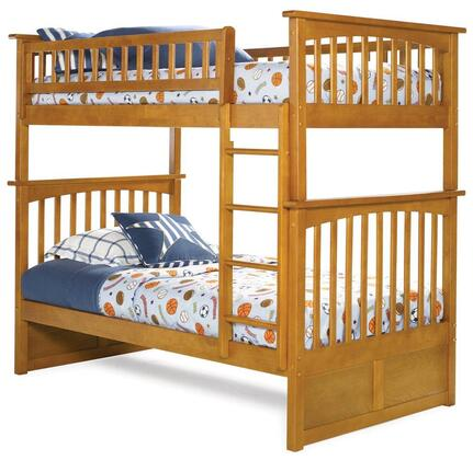 Atlantic Furniture AB55107  Twin Size Bunk Bed