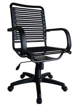 "Euro Style 02570BLK 24"" Contemporary Office Chair"