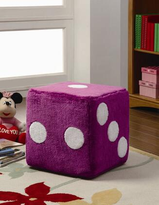 Coaster 500942 Dice Series Contemporary Fabric Ottoman