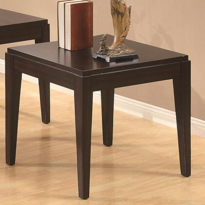Coaster 702097 Occasional Group Series Contemporary Rectangular 0 Drawers End Table