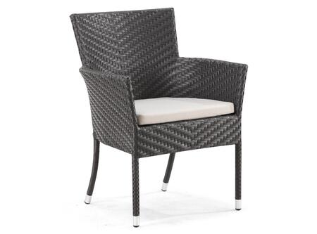 Zuo 701364 Valtos Series  Synthetic Weave w/ Aluminum Frame  Patio Chair