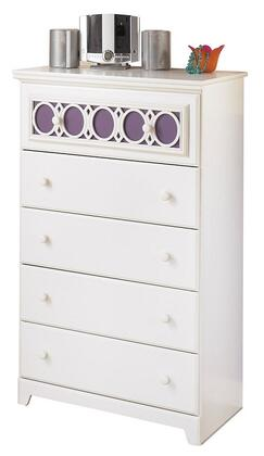 Milo Italia BR20531 Mendoza Series Wood Chest