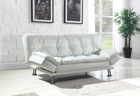 Coaster 300291 Dilleston Series Convertible Faux Leather Sofa