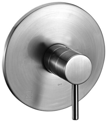 Alfi AB1601-XX Round Shower Mixer with Brass, Sleek Modern Design, User-Friendly Installation, UPC Certification and Pressure-Balanced Valve in