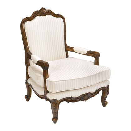 Sterling 160013 Maybach Series Armchair Linen Wood Frame Accent Chair