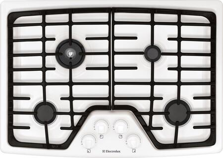 Electrolux EW30GC55GW Wave-Touch Series Gas Sealed Burner Style Cooktop