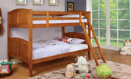 Furniture of America CMBK903OAKBED Rexford Series  Twin Size Bed