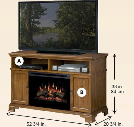Dimplex GDS251055DO Brookings Series  Electric Fireplace