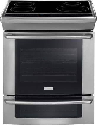 "Electrolux EW30IS65JS 30"" Wave-Touch Series Slide-in Electric Range with Smoothtop Cooktop Oven 4.2 cu. ft. Primary Oven Capacity"