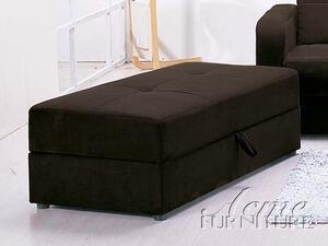 Acme Furniture 05772 Mulberry Series Contemporary Microfiber Ottoman
