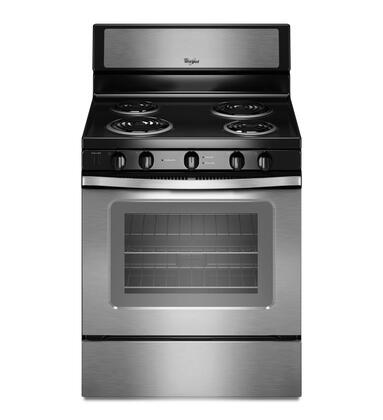 "Whirlpool WFC340S0AS 30"" Electric Freestanding"