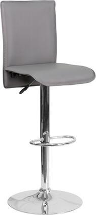Flash Furniture CHTC31206GYGG Residential Vinyl Upholstered Bar Stool