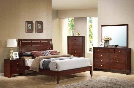 Acme Furniture 20400Q6PCSEST Ilana Queen Bedroom Sets