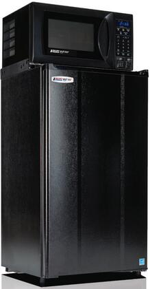 """MicroFridge 3.6MF4A-7D  19"""" Energy Star Compact Refrigerator with 3.6 cu. ft. Capacity, 0.7 cu. ft. Microwave Capacity with 700W, Safe Plug Technology, Dual-Outlet Charge Station and Crisper, in"""