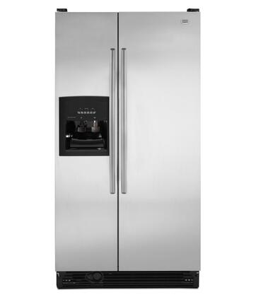 Maytag MSF25D2EAS Freestanding Side by Side Refrigerator