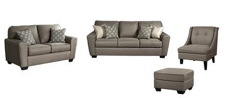 Milo Italia MI8018SLACOCASH Baylee Living Room Sets