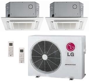 LG 704118 Dual-Zone Mini Split Air Conditioners