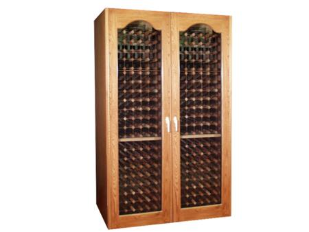 "Vinotemp VINO750FTG 60"" Wine Cooler, in Unfinished"