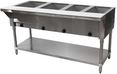 4 Well Hot Food Table