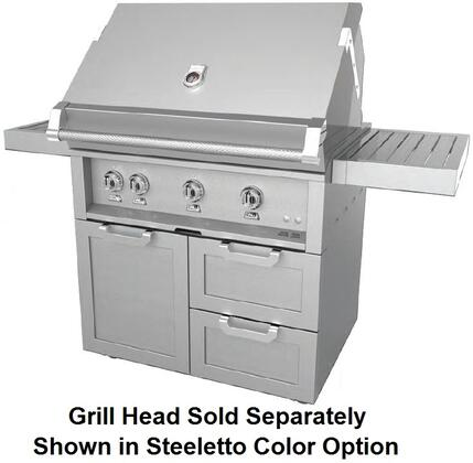 Combo Grill Cart 36 in