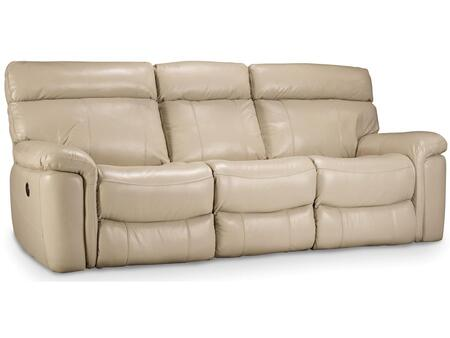 Taupe Power Motion Sofa