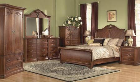 Accent HA848502BED6SET Wyndham Queen Bedroom Sets