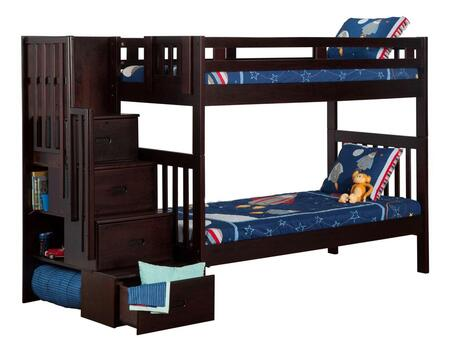 Atlantic Furniture AB63601  Twin Size Bunk Bed