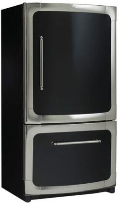 Heartland 301500L0600 Classic Series Bottom Freezer Refrigerator with 18.5 cu. ft. Capacity in Black