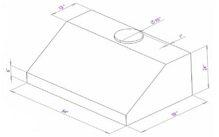 Dimension Diagram