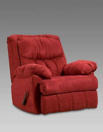 Chelsea Home Furniture 2500RB Payton Series Transitional Polyester Wood Frame Rocking Recliners