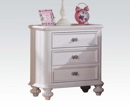 Acme Furniture 30009 Athena Series Rectangular Wood Night Stand