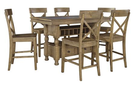 Signature Design by Ashley D659CT6BS Trishley Dining Room Se