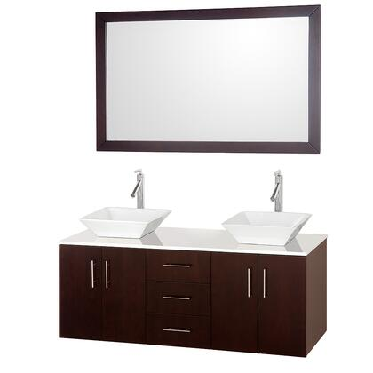 Wyndham Collection WCSB40055ESWHD28WH