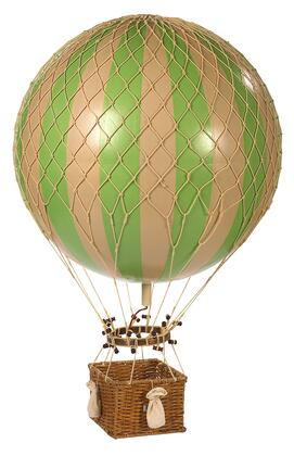 Authentic Models AP16X Jules Verne Balloon with Rattan & paper Material