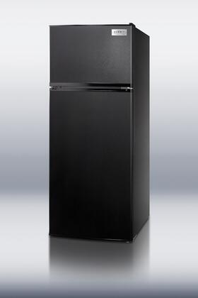 "Summit FF1112BL 24""  Refrigerator with 10.3 cu. ft. Capacity in Black"