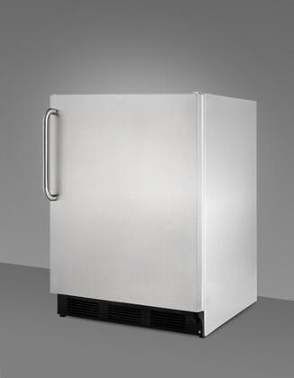 Summit SCFF55OSIM Built-In Upright Counter Depth Freezer