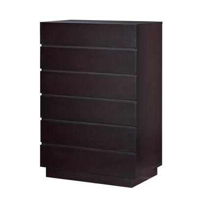 Global Furniture USA METROCHOCCH Metro Series Wood Chest