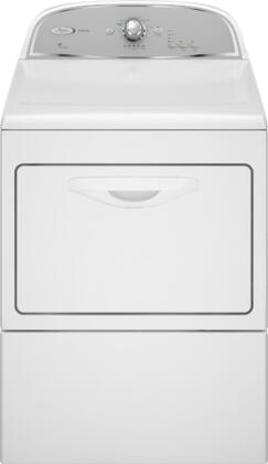 """Whirlpool WGD5500XW Front Load Gas 7.4 cu. ft. Capacity No 27"""" Digital and Knobs No Dryer 