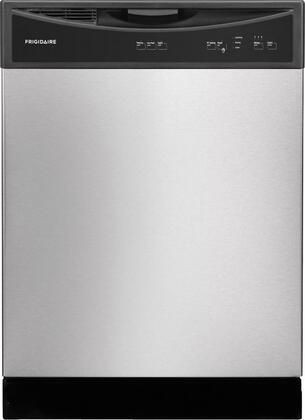 "Frigidaire FFBD2406NS 24"" Built In Full Console Dishwasher with 14 Place Settings Place Settingin Stainless Steel"