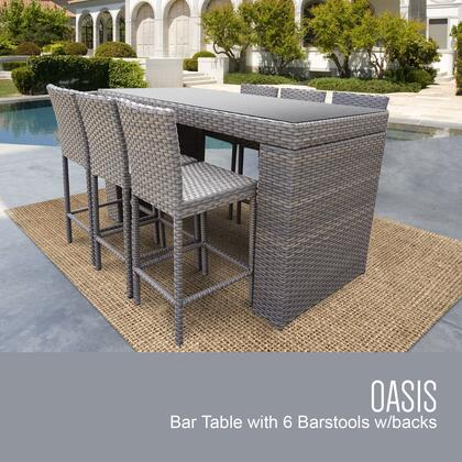 OASIS BARTABLE WITHBACK 6