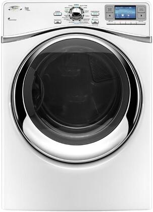 Whirlpool WGD97HEXW Gas Duet Steam Series Gas Dryer