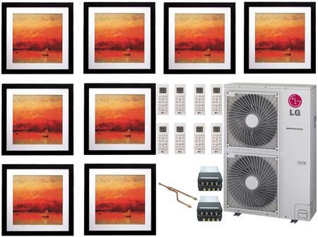 LG 705784 8-Zone Mini Split Air Conditioners