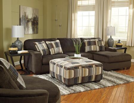 Milo Italia MI5749RFSECSVCCHOC Zachary Living Room Sets