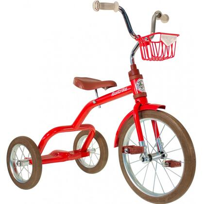 """Italtrike Spokes 8218 16"""" Tricycle with in Front Basket in"""