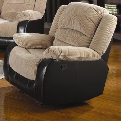 Coaster 600362R Casual Vinyl Wood Frame  Recliners