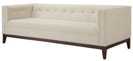 EdgeMod EM226WALBEI Huntington Series Stationary Fabric Sofa
