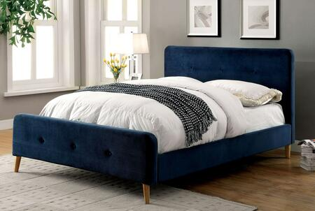 Furniture of America CM7272NVTBED Barney Series  Twin Size Platform Bed