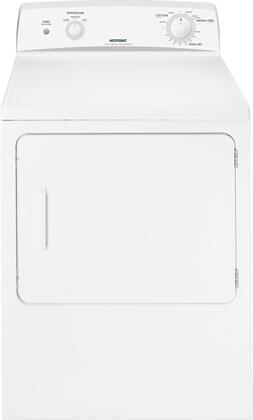 """Hotpoint HTDX100EMWW 27"""" 6 cu. ft. Electric Dryer, in White"""