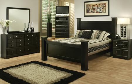Sandberg 334B Elena California Bedroom Sets