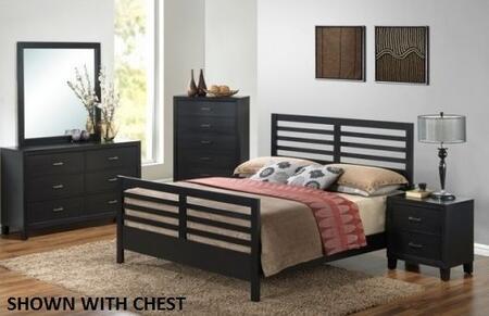 Glory Furniture G1250CKB2DMN G1250 King Bedroom Sets